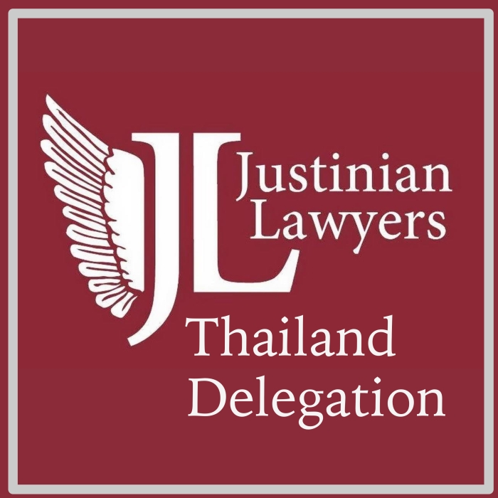 Justinian Lawyers Thailand Delegation