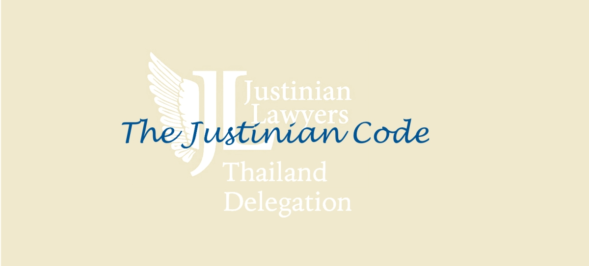 The Justinian Code - Byzantine laws made for modern times