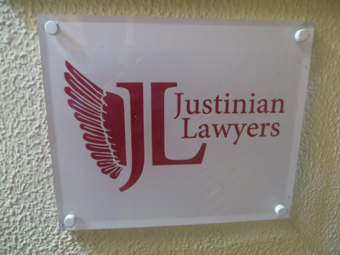 JUSTINIAN LAWYERS SIGN